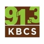 Logo da emissora Radio KBCS 91.3 FM