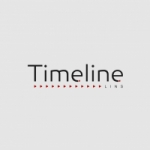 Logo da emissora Rádio Timeline