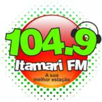 Logo da emissora Rádio Itamari 104.9 FM
