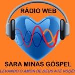 Logo da emissora Sara Minas Rádio Web