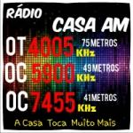 Logo da emissora Rádio Casa AM
