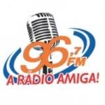 Logo da emissora Rádio Amiga 96.7 FM
