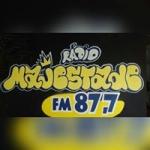 Logo da emissora Rádio Majestade 105.9 FM