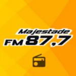 Logo da emissora Rádio Majestade 87.7 FM