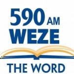Logo da emissora Radio WEZE 590 AM