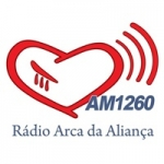 Logo da emissora Rádio Arca da Aliança 1260 AM