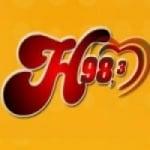 Logo da emissora Rádio Harmonia 98.3 FM