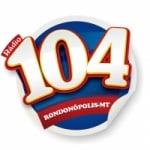 Logo da emissora Rádio Amorim 104.1 FM