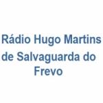 Logo da emissora Rádio Hugo Martins de Salvaguarda do Frevo