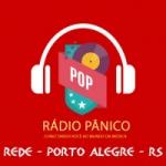 Logo da emissora Rádio Pânico - Pop