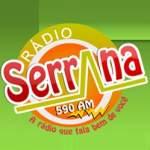 Logo da emissora Rádio Serrana de Araruna 590 AM