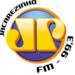 Logo da emissora Rádio Jovempan 99.3 FM