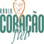 Logo da emissora Rádio Coração Fiel