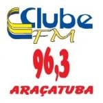 Logo da emissora Rádio Clube 96.3 FM