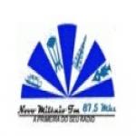 Logo da emissora Rádio Novo Milênio 87.5 FM
