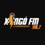 Logo da emissora Rádio Xingó 98.7 FM