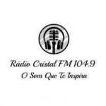 Logo da emissora Rádio Cristal 104.9 FM