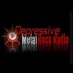 Logo da emissora Radio Depressive Metal Rock Radio