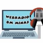 Logo da emissora Webradio Minas BM FM