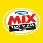 Logo da emissora Rádio Mix 100.9 FM