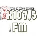 Logo da emissora K107.5 FM