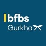 Logo da emissora Radio BFBS Gurkha Network 107.5 FM