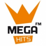 Logo da emissora Rádio Mega Hits  92.4 FM