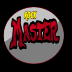 Logo da emissora Rádio Rock Master