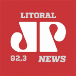Logo da emissora Rádio Jovem Pan News 92.3 FM
