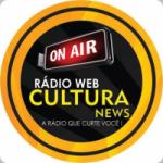 Logo da emissora Rádio Web Cultura News