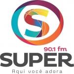 Logo da emissora Rádio Super 90.1 FM