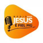 Logo da emissora Rádio Jesus é Fiel MG