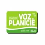 Logo da emissora Rádio Voz da Planície 104.5 FM
