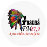 Logo da emissora Rádio Guanaã FM