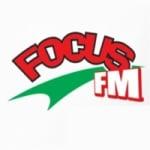 Logo da emissora Focus 93.8 FM
