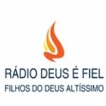 Logo da emissora Rádio Deus é Fiel