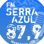 Logo da emissora Rádio FM Serra Azul Ibaretama