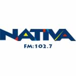 Logo da emissora Rádio Nativa 102.7 FM