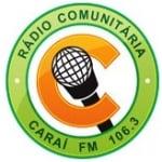 Logo da emissora Rádio Caraí 106.3 FM