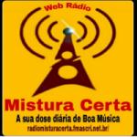 Logo da emissora Rádio Mistura Certa