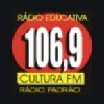 Logo da emissora Radio Educativa Cultura 106.9 FM