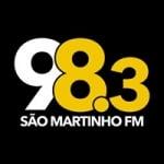 Logo da emissora Rádio São Martinho 98.3 FM