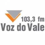 Logo da emissora Rádio Voz do Vale 103.3 FM