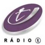 Logo da emissora Rádio T 104.9 FM