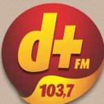 Logo da emissora Rádio Demais 103.7 FM