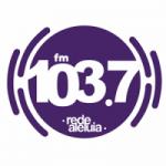 Logo da emissora Rádio Rede Aleluia 103.7 FM