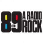 Logo da emissora 89 FM A Rádio Rock 105.3 FM