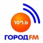 Logo da emissora Radio Gorod 107.6 FM