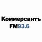 Logo da emissora Kommersant 93.6 FM