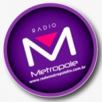 Logo da emissora Rádio Rede Metrópole FM